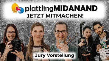 Die Jury des Kunstwettbewerbs Midanand stellt sich vor.